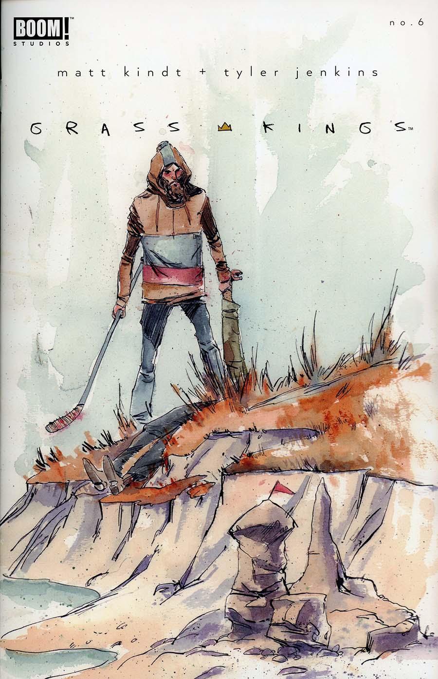 Grass Kings #6 Cover A Regular Tyler Jenkins Cover