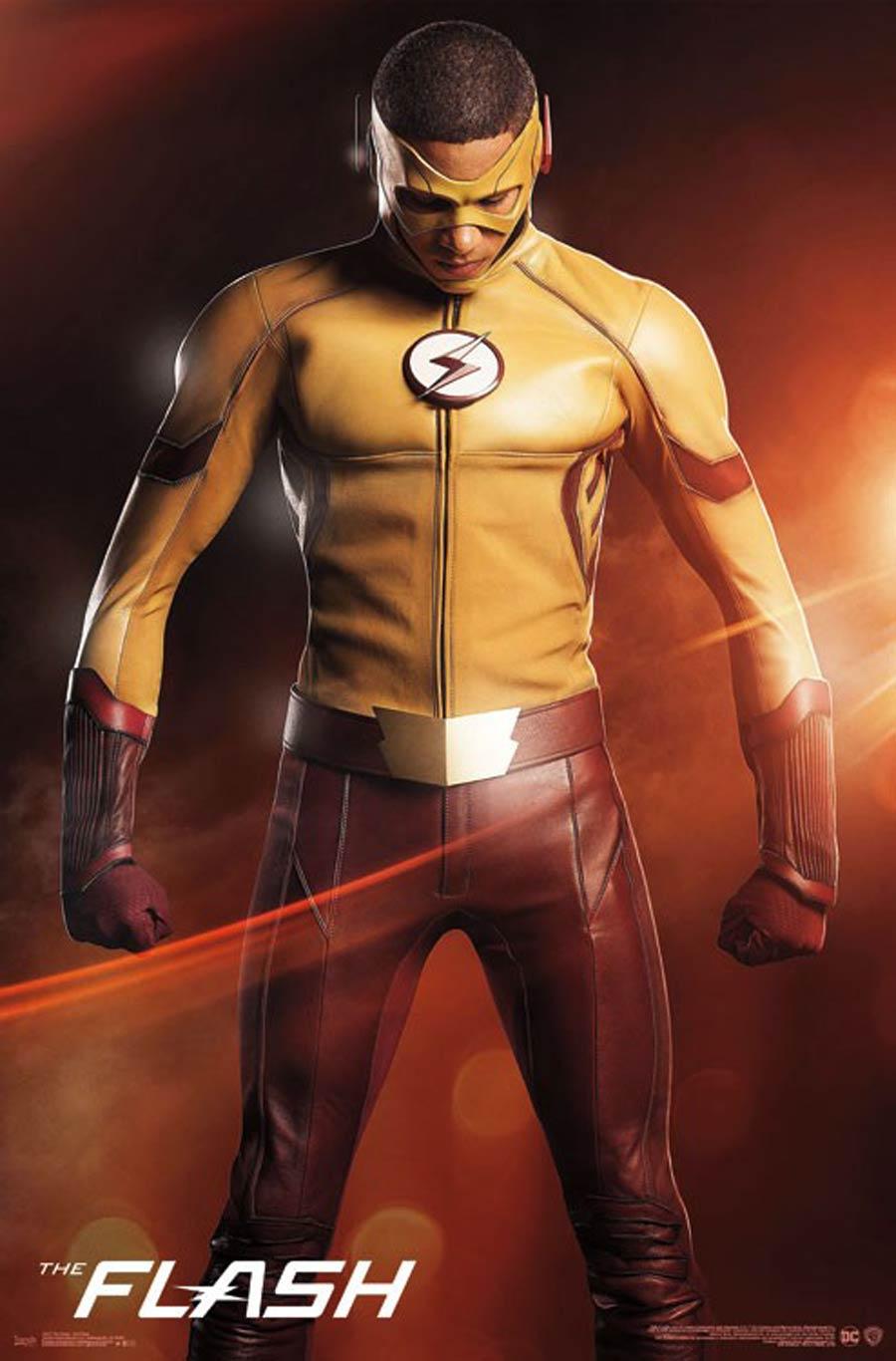 Flash Kid Flash Poster