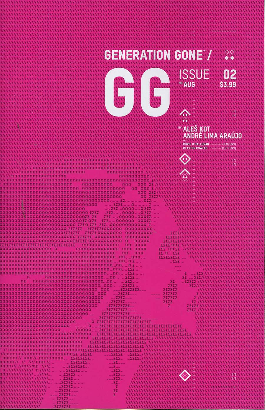Generation Gone #2 Cover B Variant Jonathan Hickman Month Cover
