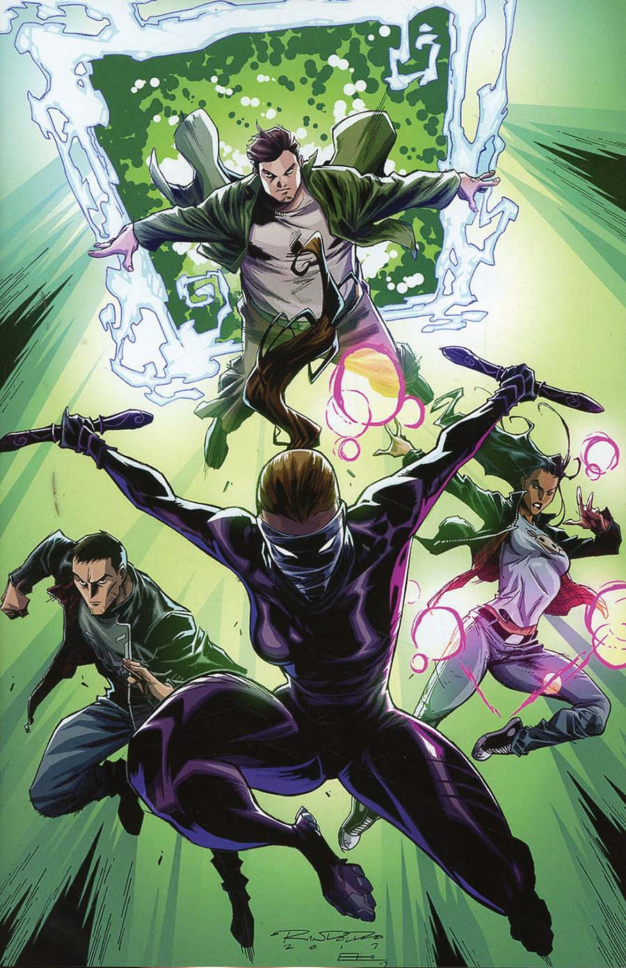 Catalyst Prime Incidentals #1 Cover B Incentive Khary Randolph Variant Cover