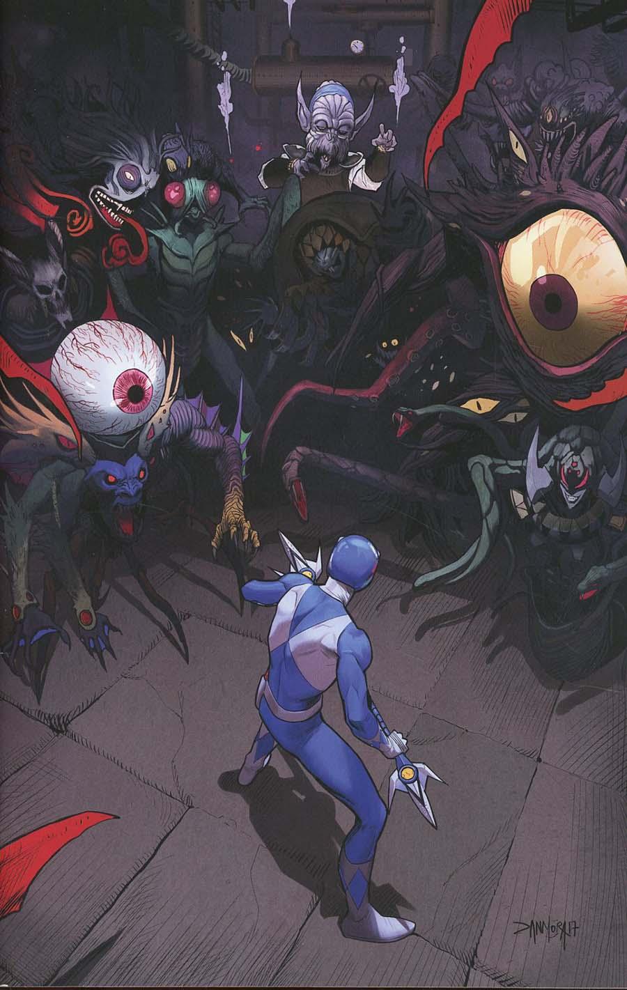 Mighty Morphin Power Rangers (BOOM Studios) #18 Cover D Incentive Dan Mora Virgin Variant Cover
