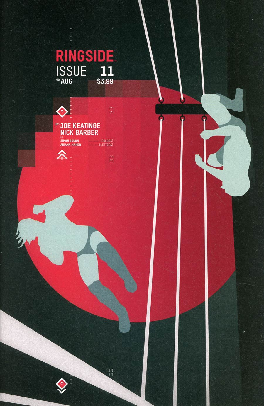 Ringside #11 Cover B Variant Jonathan Hickman Month Cover