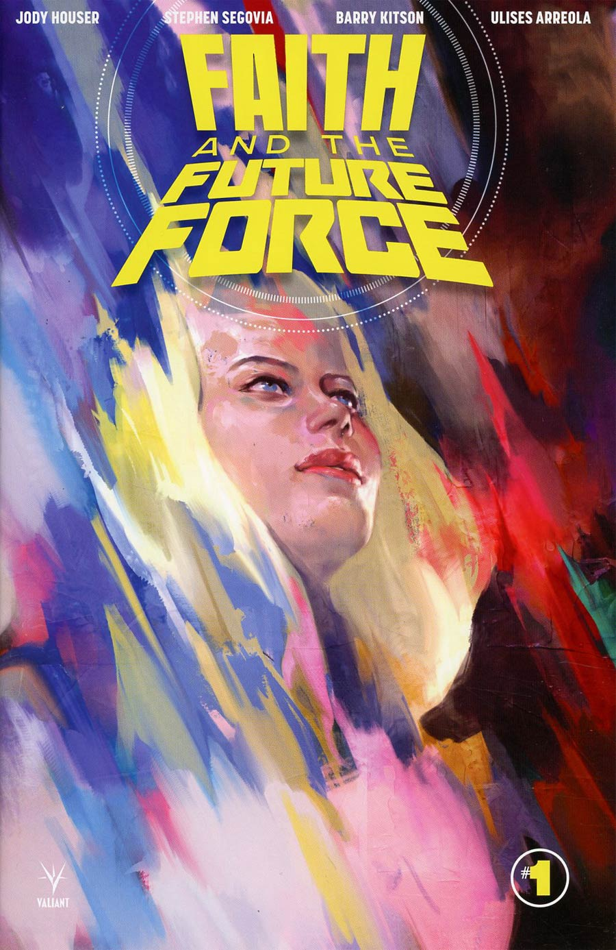 Faith And The Future Force #1 Cover F 2nd Ptg Jelena Kevic Djurdjevic Variant Cover