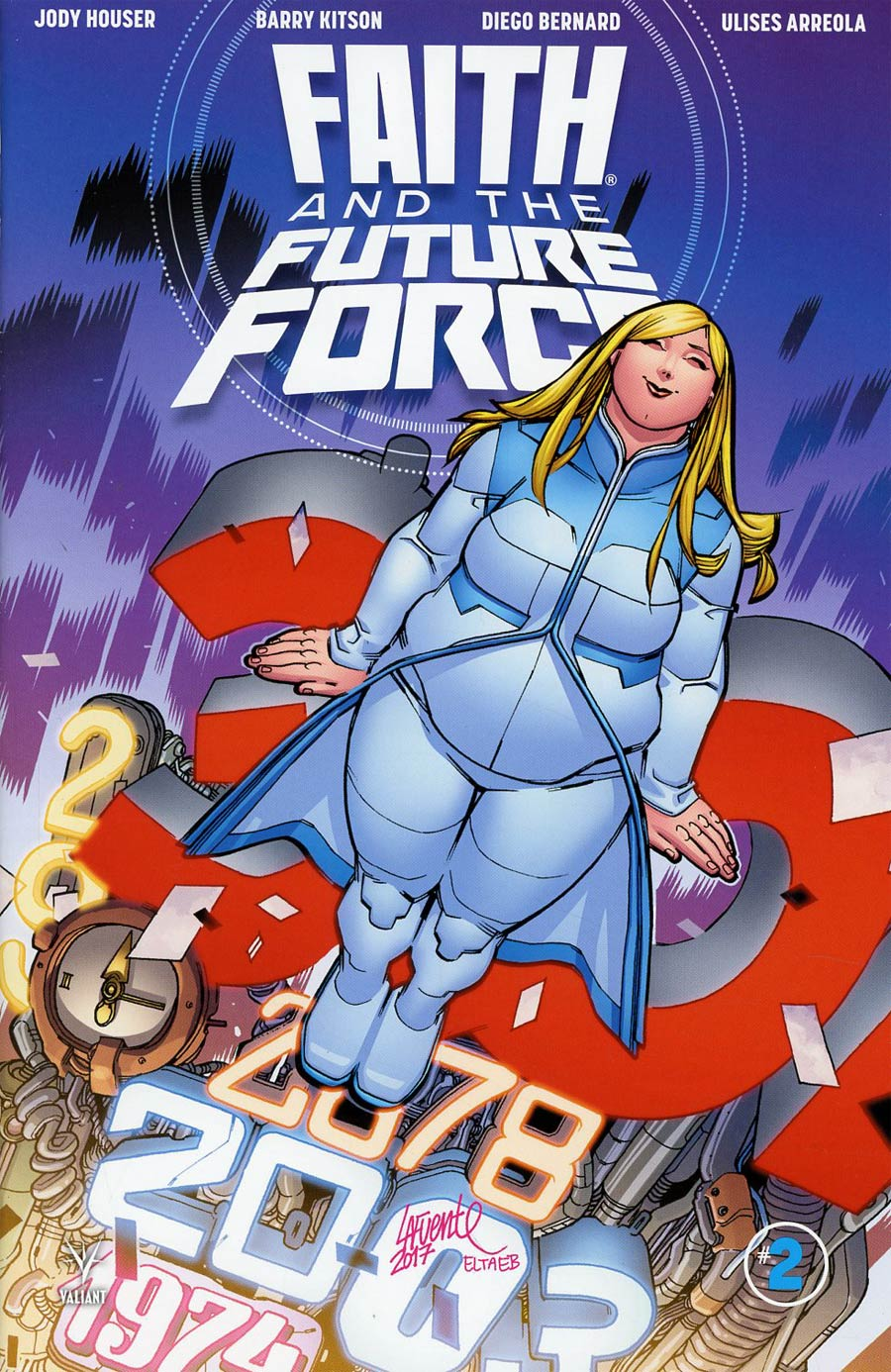 Faith And The Future Force #2 Cover D Incentive David Lafuente Variant Cover
