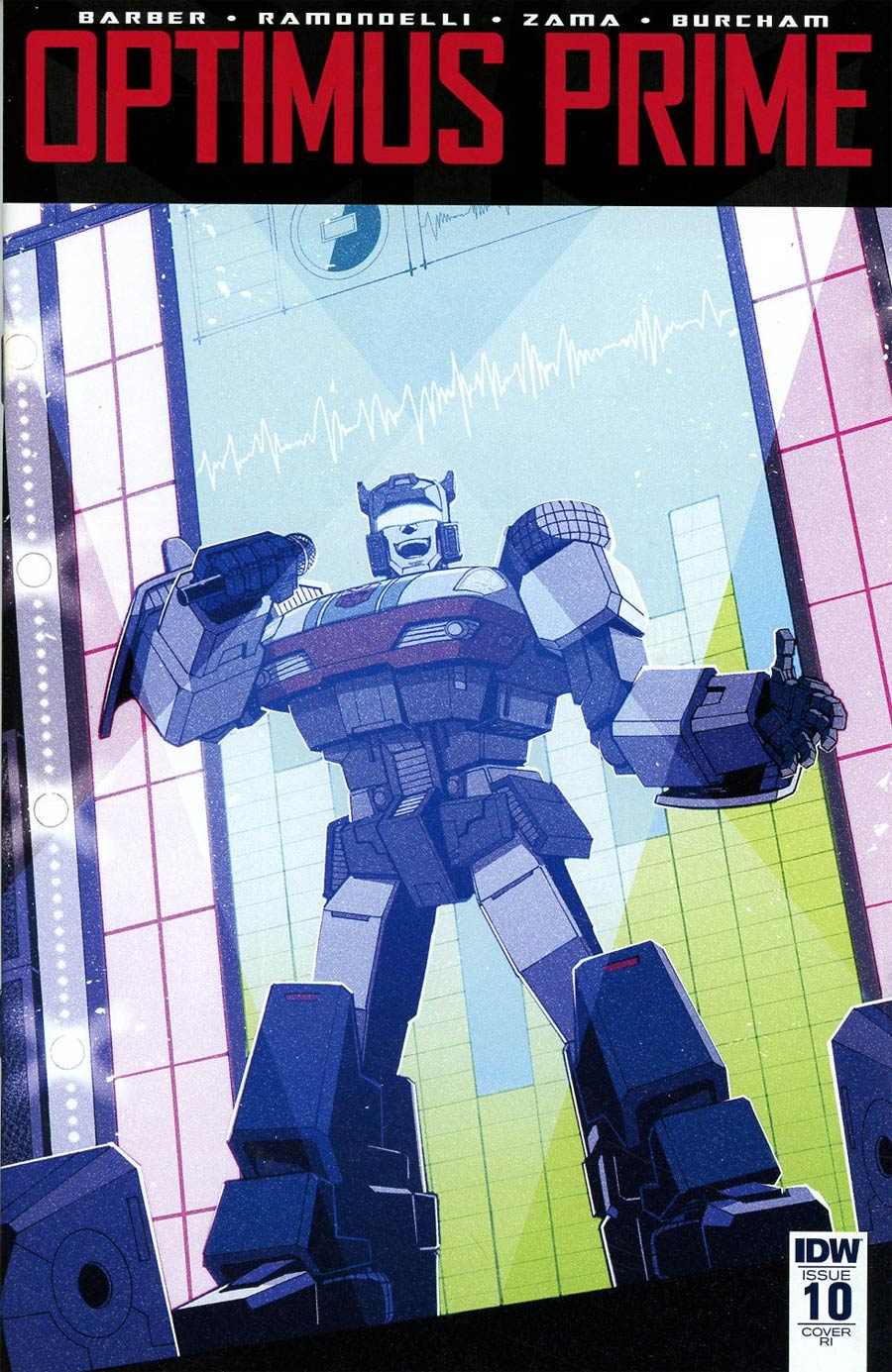 Optimus Prime #10 Cover D Incentive Andrew MacLean Variant Cover