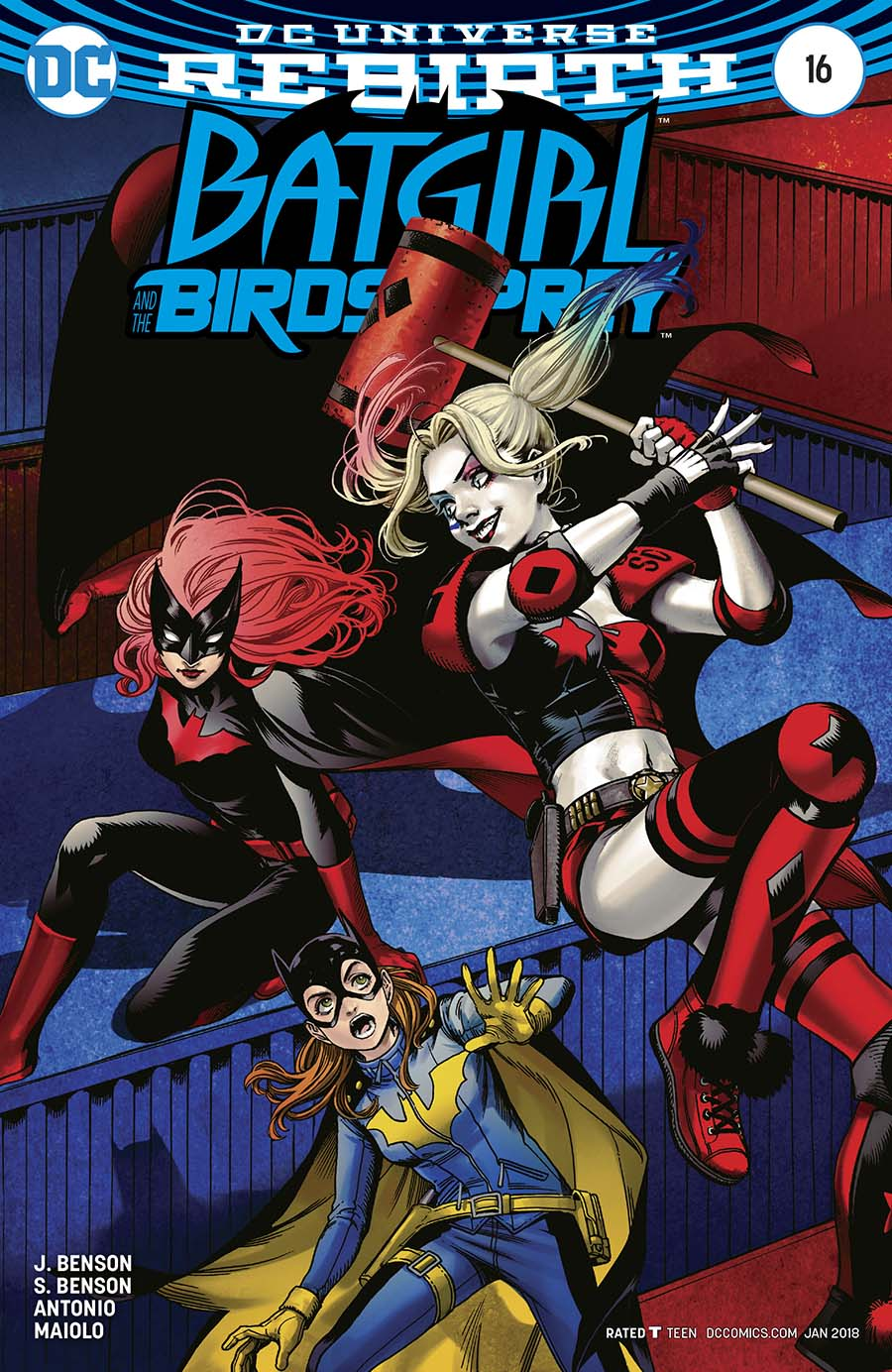 Batgirl And The Birds Of Prey #16 Cover B Variant Kamome Shirahama Cover