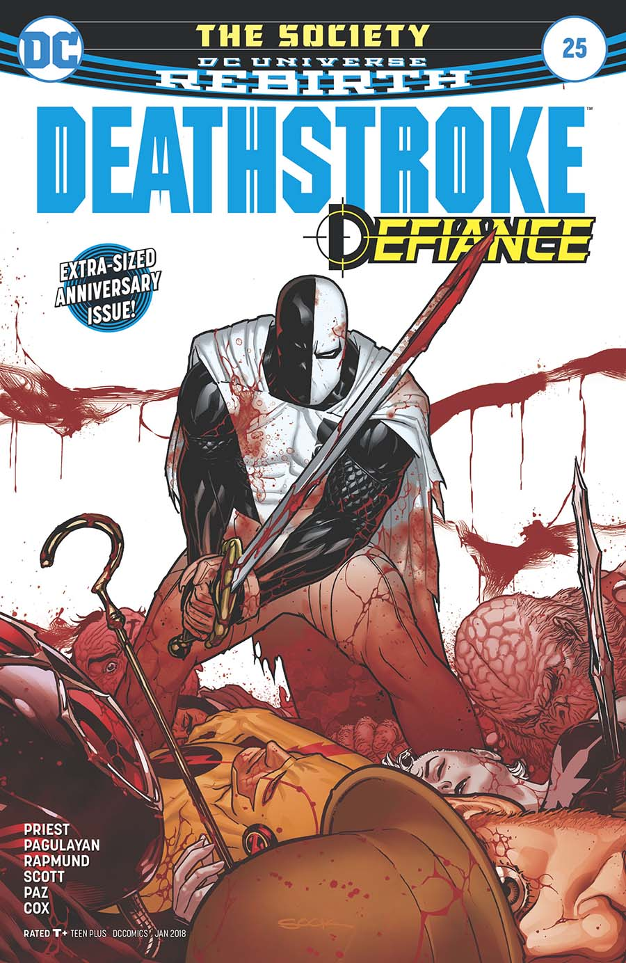 Deathstroke Vol 4 #25 Cover A Regular Ryan Sook Cover