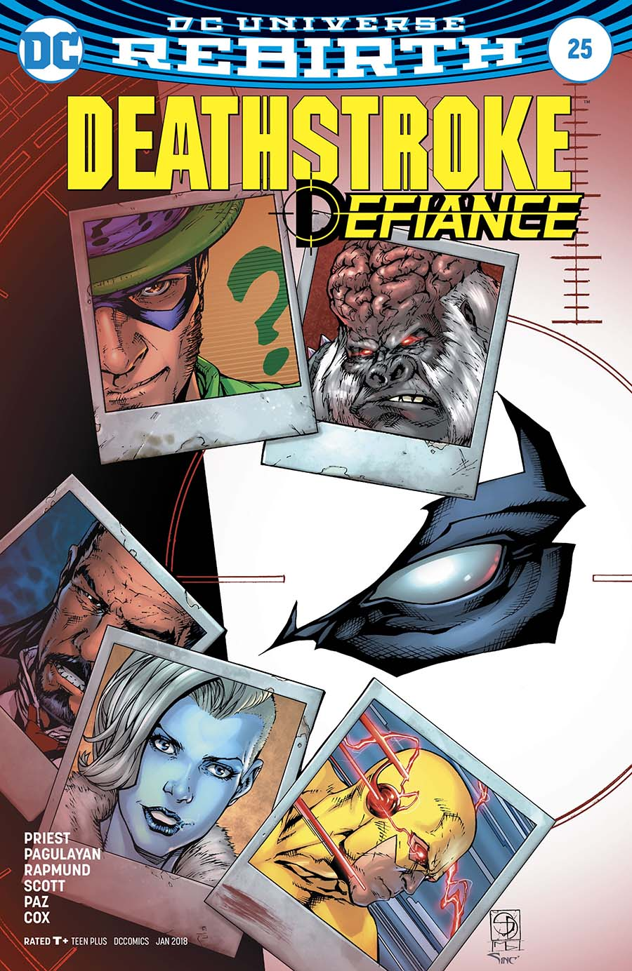 Deathstroke Vol 4 #25 Cover B Variant Shane Davis & Michelle Delecki Cover