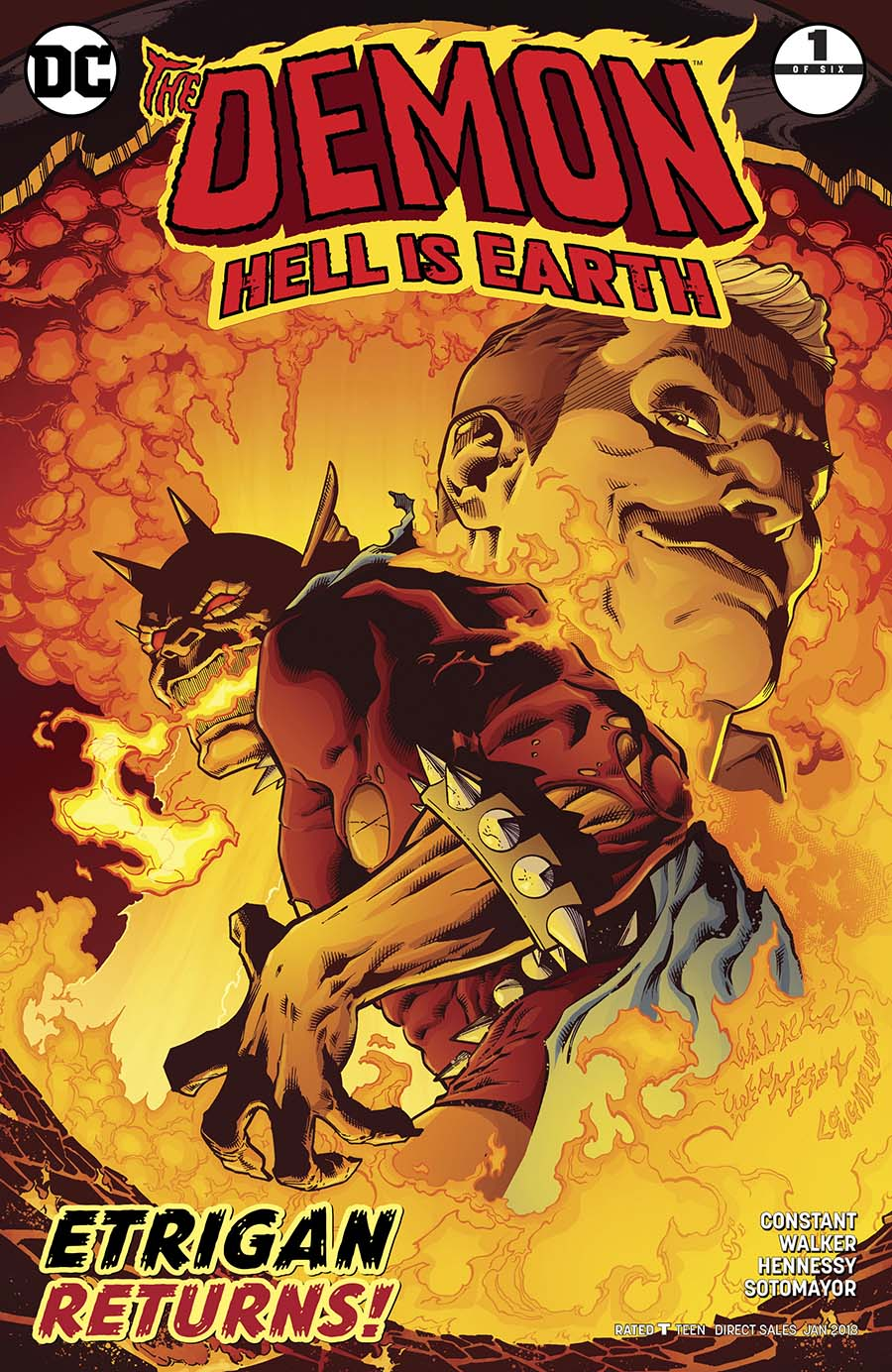 Demon Hell Is Earth #1