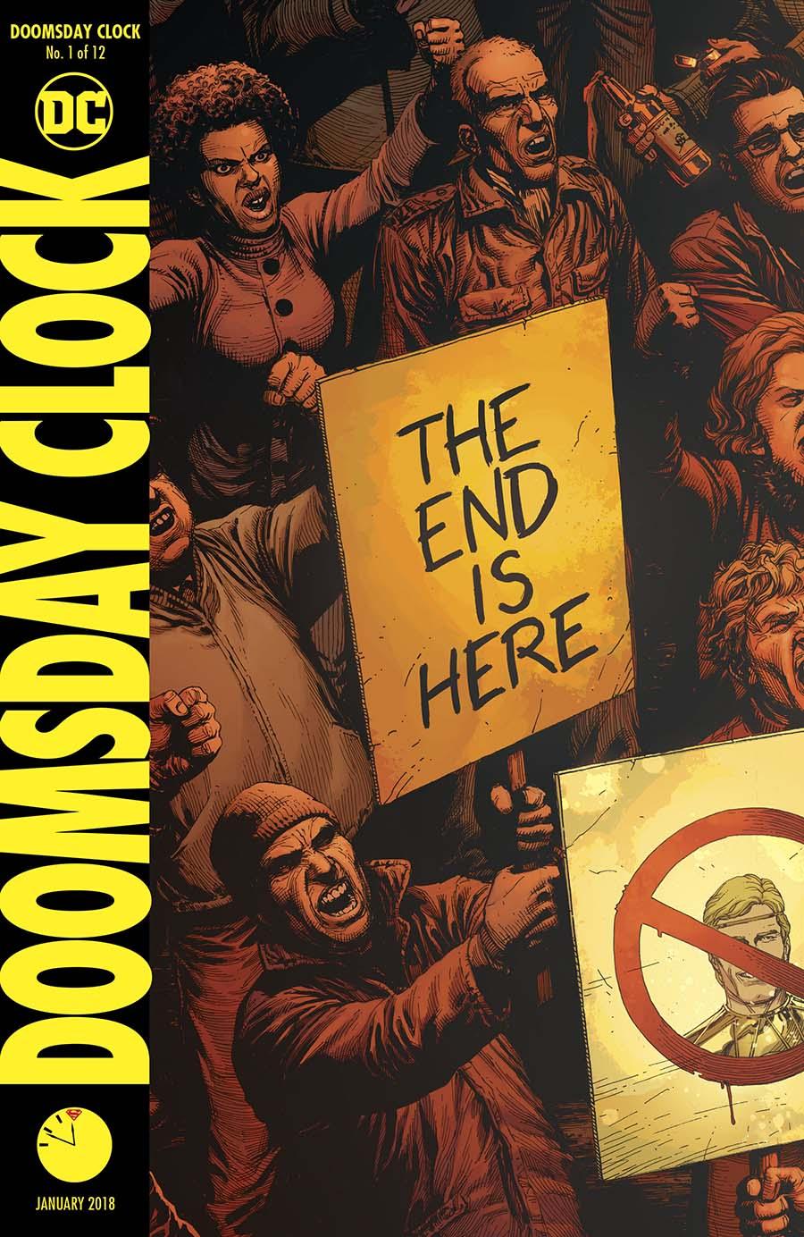 Doomsday Clock #1 Cover A 1st Ptg Regular Gary Frank Cover
