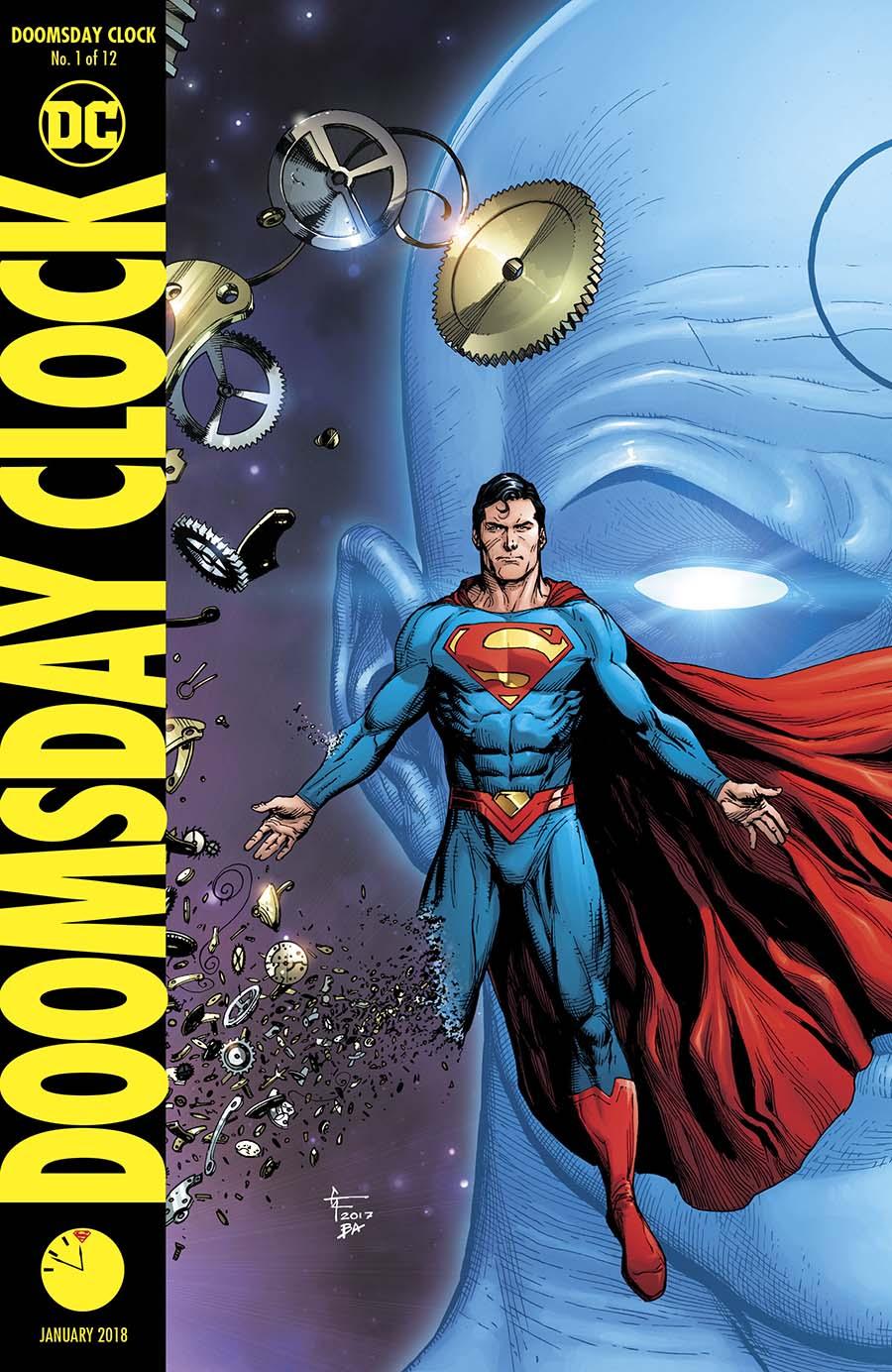 Doomsday Clock #1 Cover B Variant Gary Frank Cover