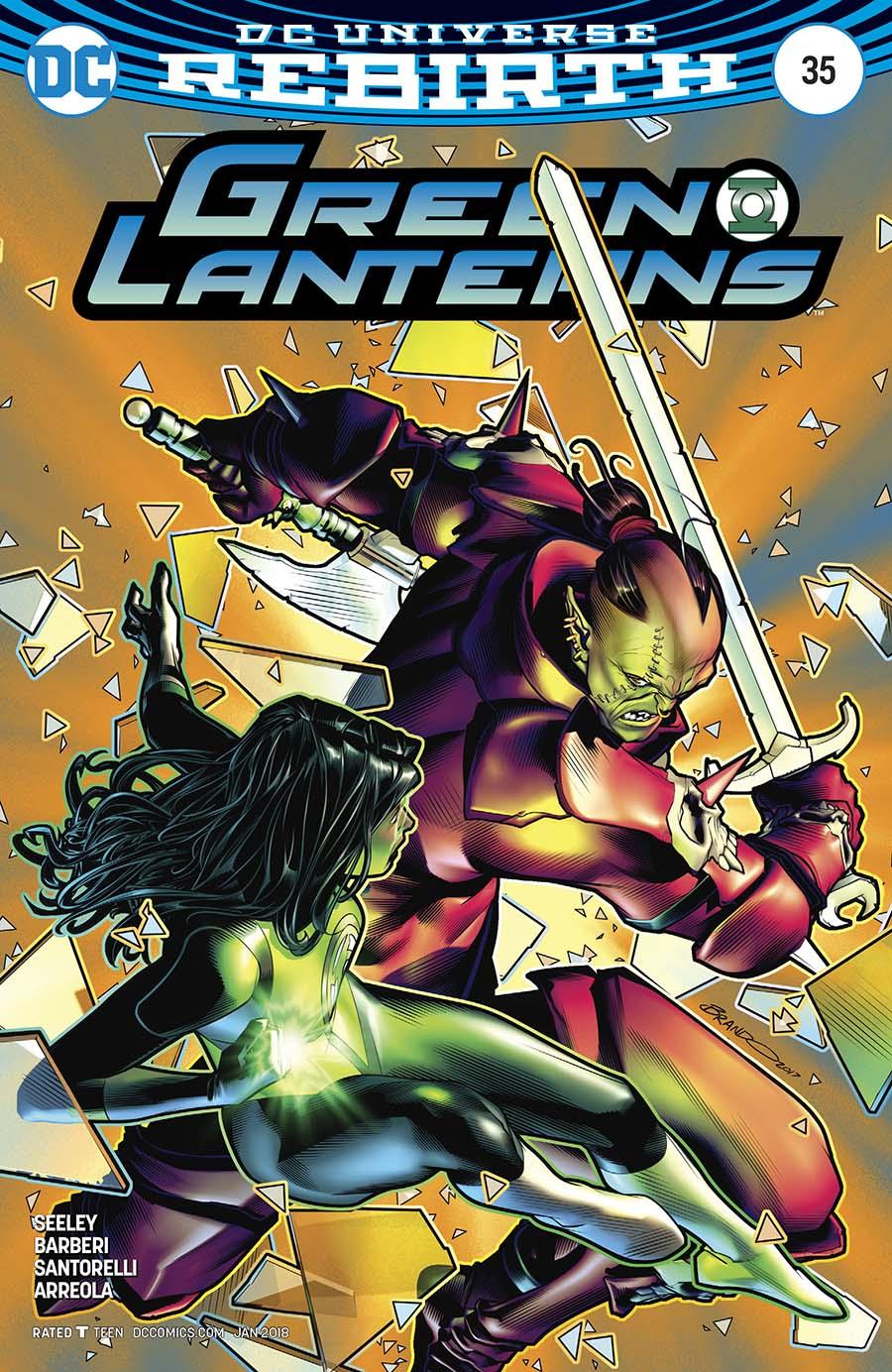 Green Lanterns #35 Cover B Variant Brandon Peterson Cover