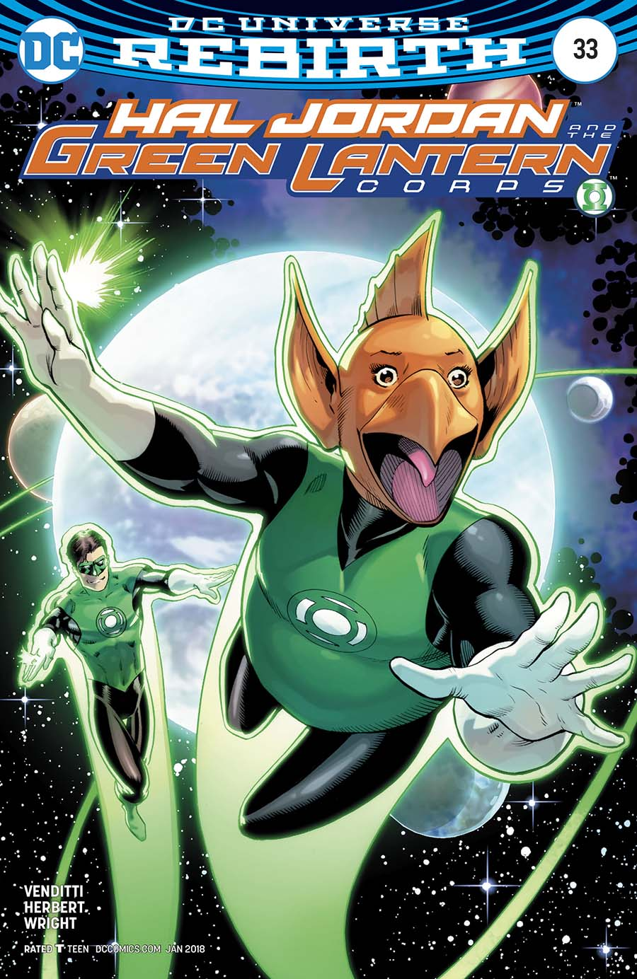 Hal Jordan And The Green Lantern Corps #33 Cover B Variant Barry Kitson Cover