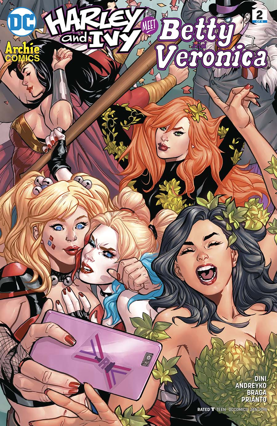 Harley & Ivy Meet Betty & Veronica #2 Cover A Regular Emanuela Lupacchino Cover