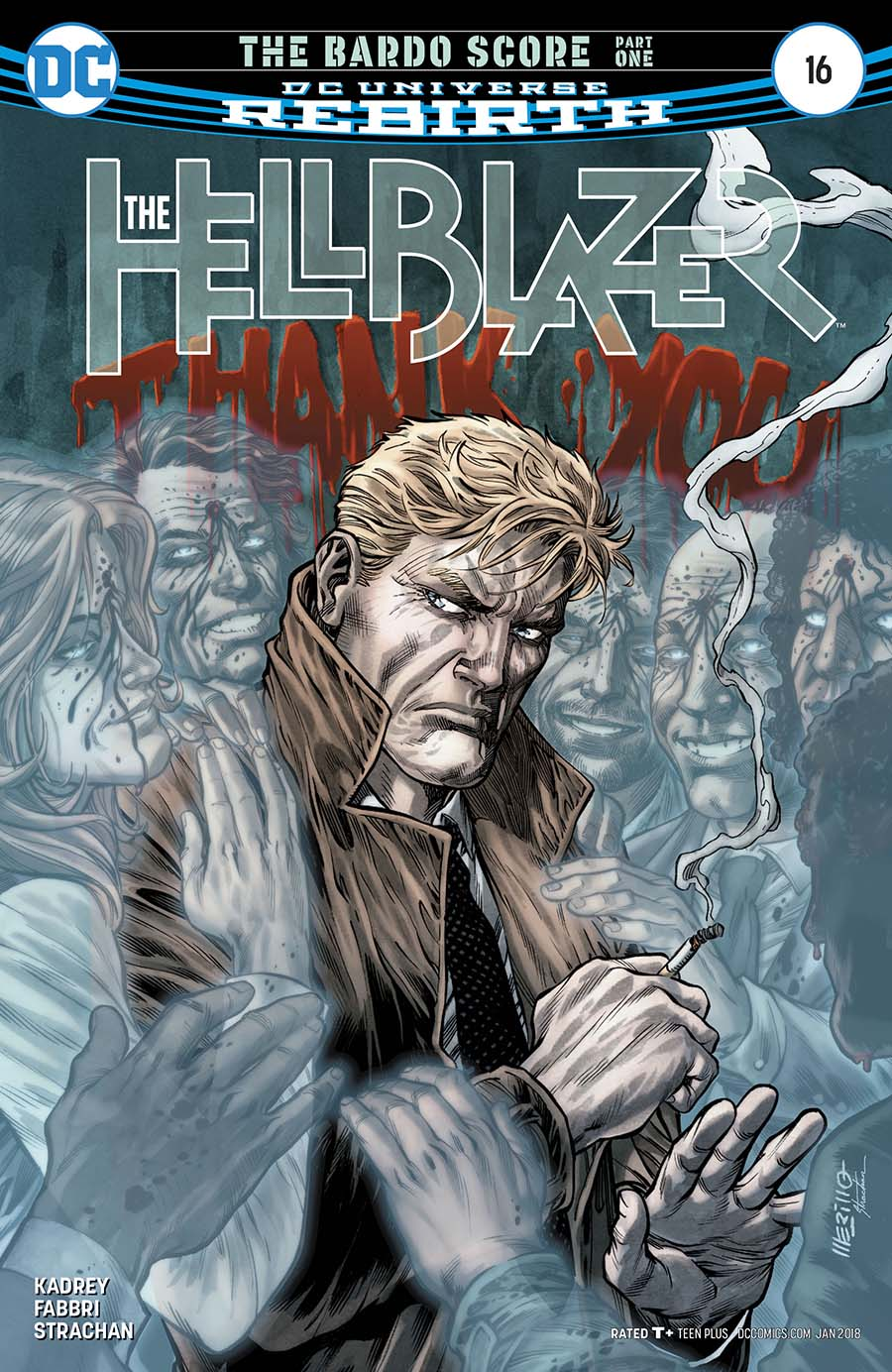 Hellblazer Vol 2 #16 Cover A Regular Jesus Merino Cover