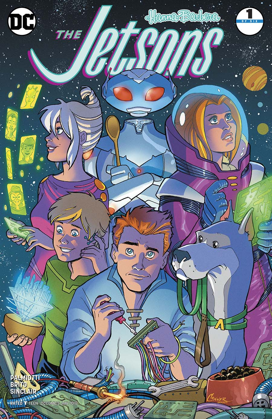 Jetsons (DC) #1 Cover A Regular Amanda Conner Cover