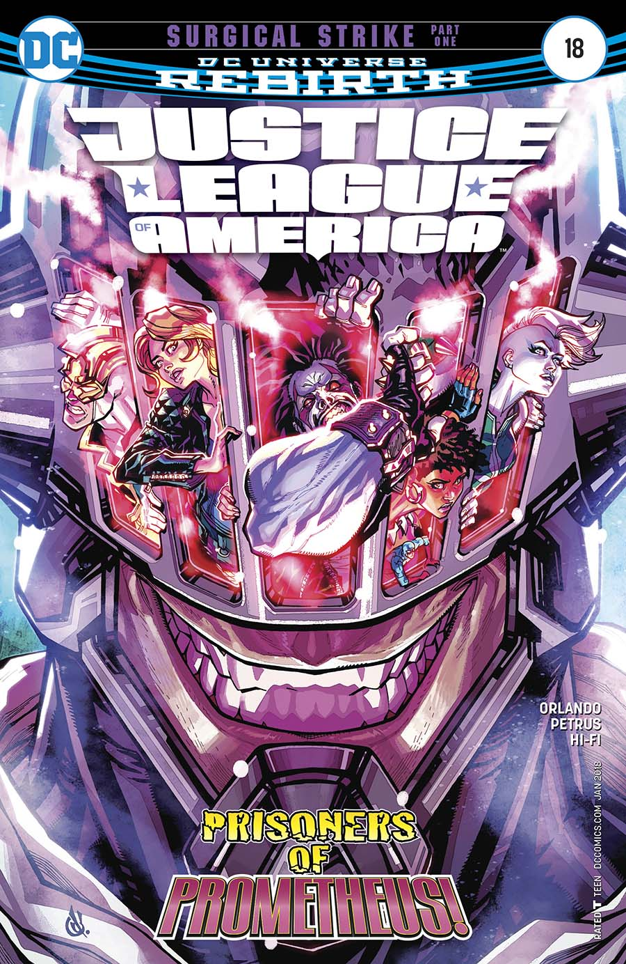 Justice League Of America Vol 5 #18 Cover A Regular Carlos DAnda Cover