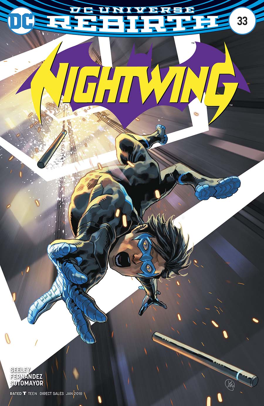 Nightwing Vol 4 #33 Cover B Variant Casey Jones Cover