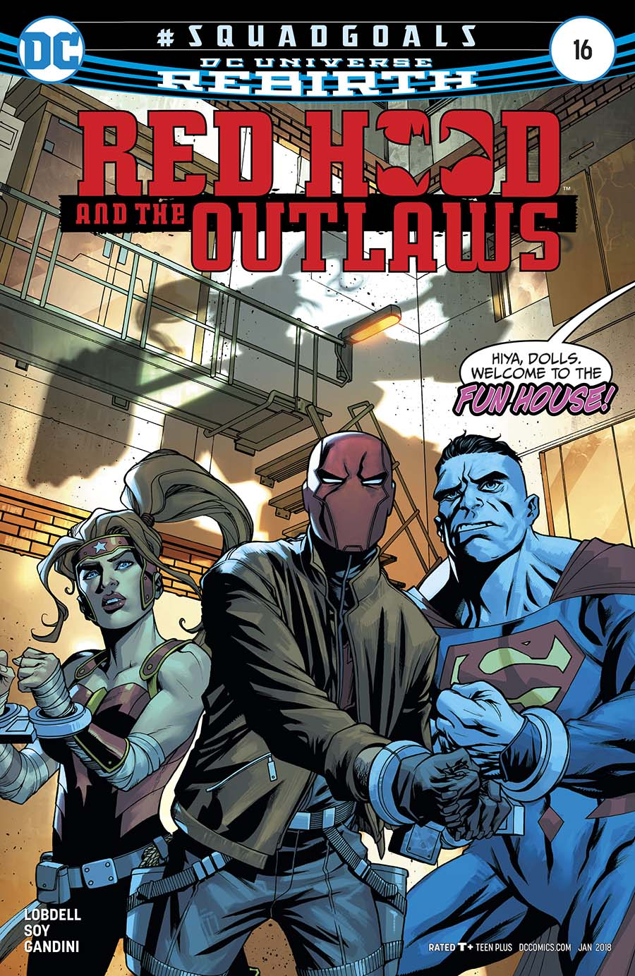 Red Hood And The Outlaws Vol 2 #16 Cover A Regular Mike McKone Cover