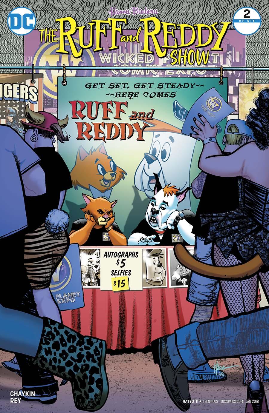Ruff & Reddy Show #2 Cover A Regular Howard Chaykin Cover