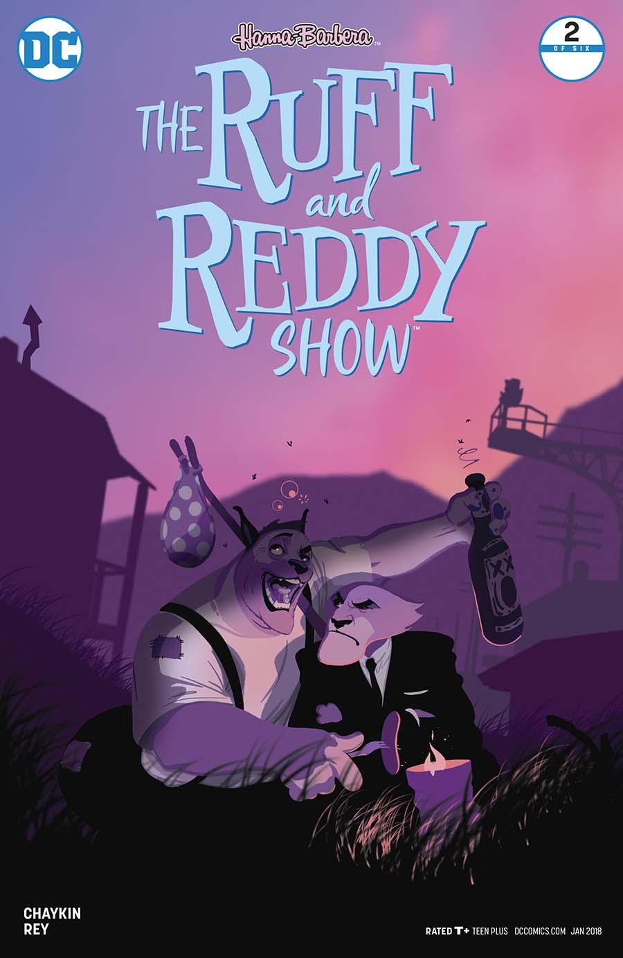 Ruff & Reddy Show #2 Cover B Variant Mac Rey Cover