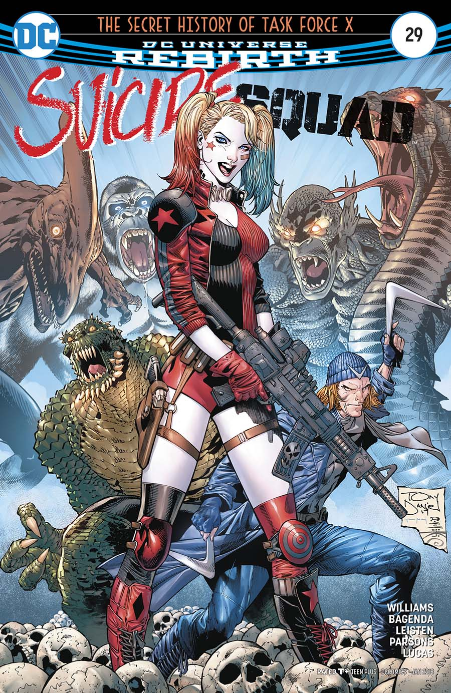 Suicide Squad Vol 4 #29 Cover A Regular Tony S Daniel & Danny Miki Cover