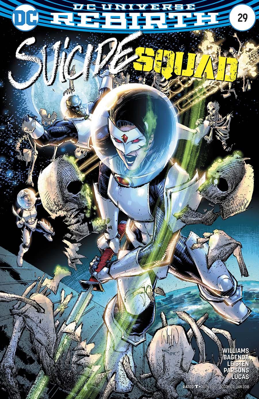 Suicide Squad Vol 4 #29 Cover B Variant Whilce Portacio Cover