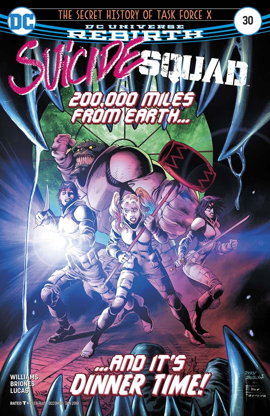 Suicide Squad Vol 4 #30 Cover A Regular Tony S Daniel & Danny Miki Cover