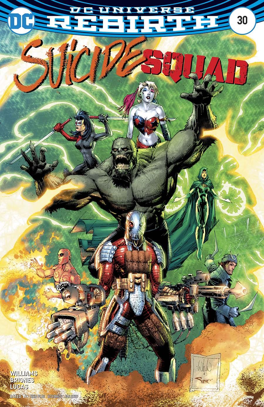 Suicide Squad Vol 4 #30 Cover B Variant Whilce Portacio Cover