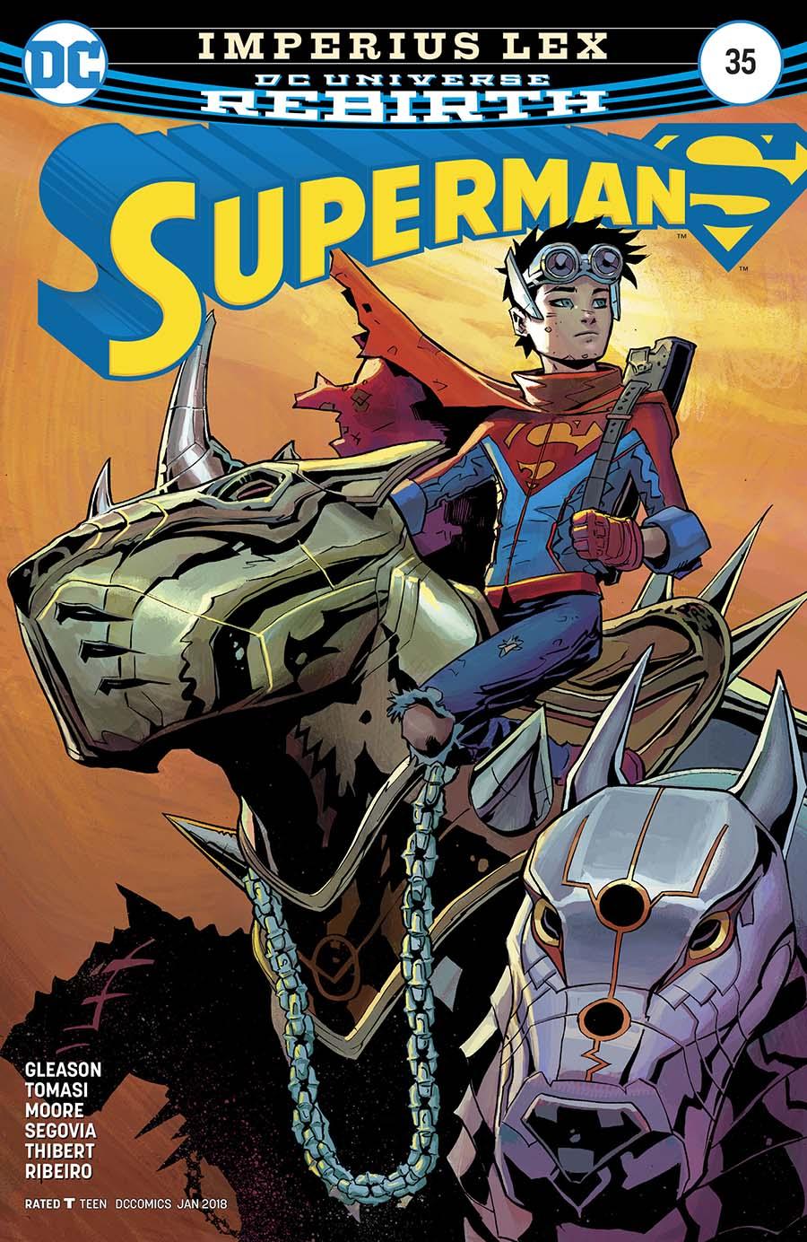 Superman Vol 5 #35 Cover A Regular Patrick Gleason Cover