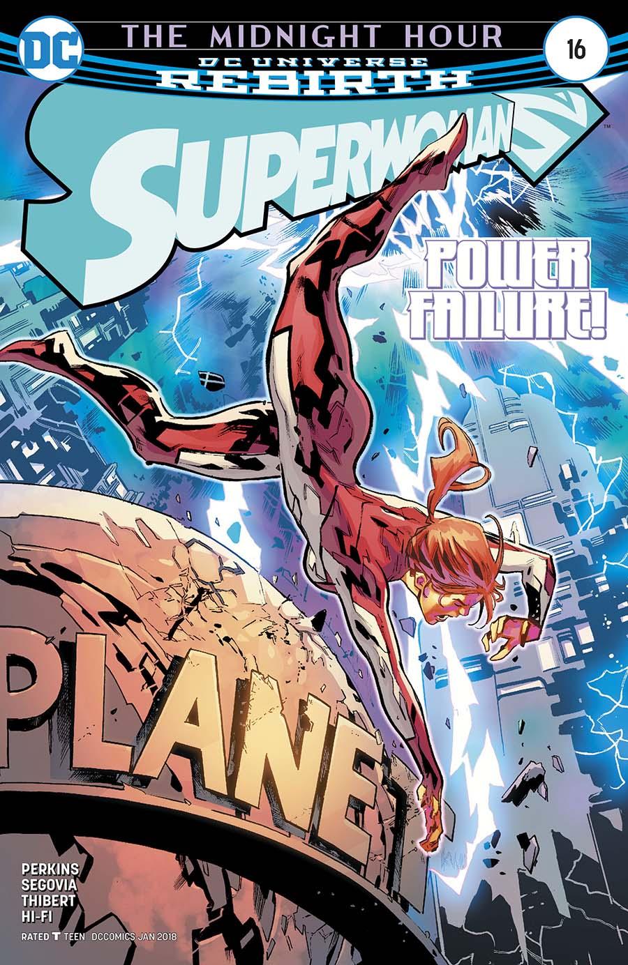 Superwoman #16 Cover A Regular Ken Lashley Cover