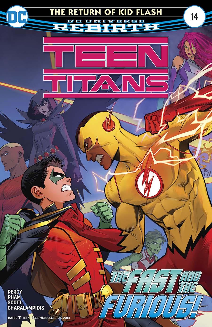 Teen Titans Vol 6 #14 Cover A Regular Dan Mora Cover
