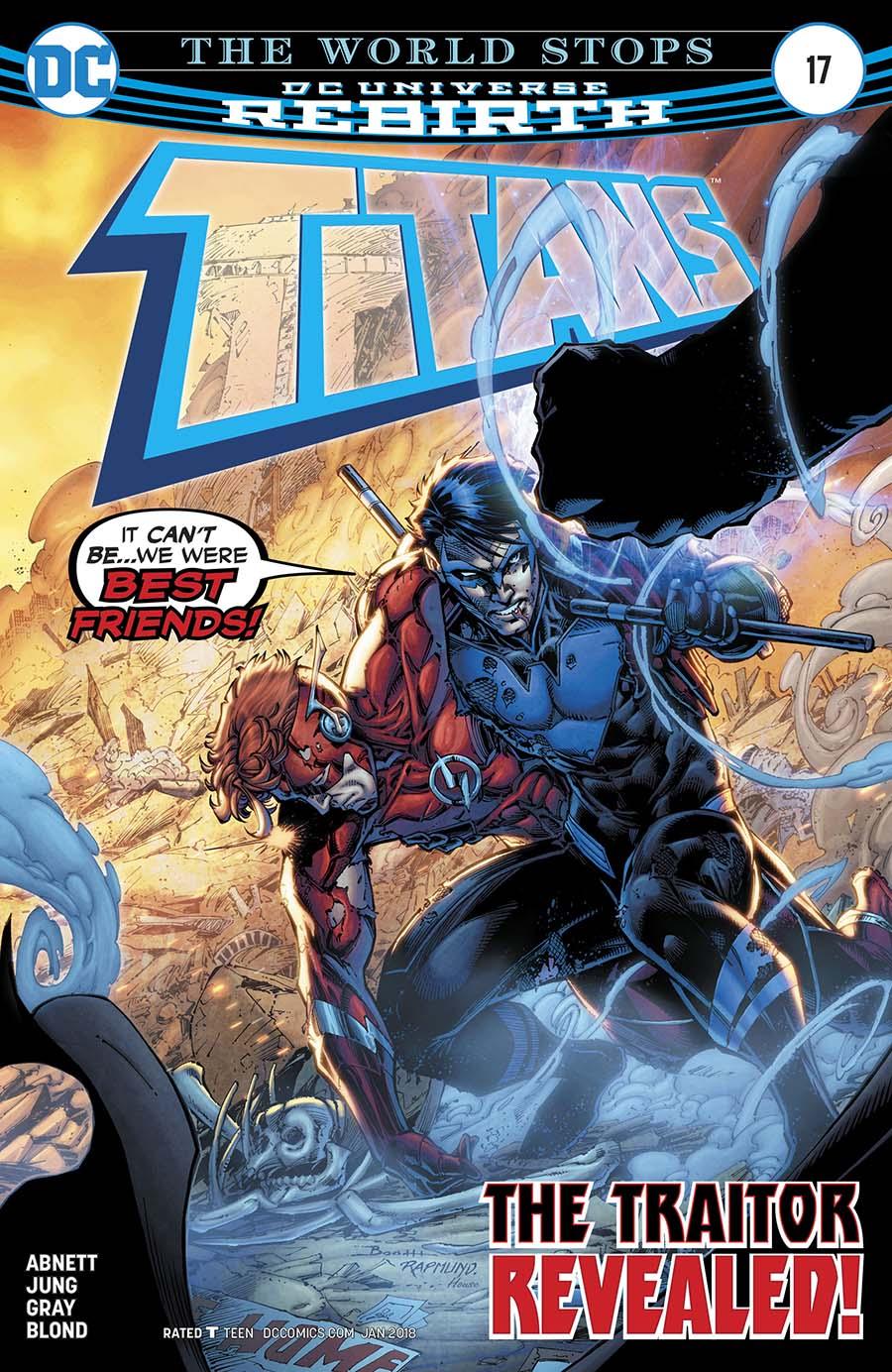 Titans Vol 3 #17 Cover A Regular Brett Booth & Norm Rapmund Cover