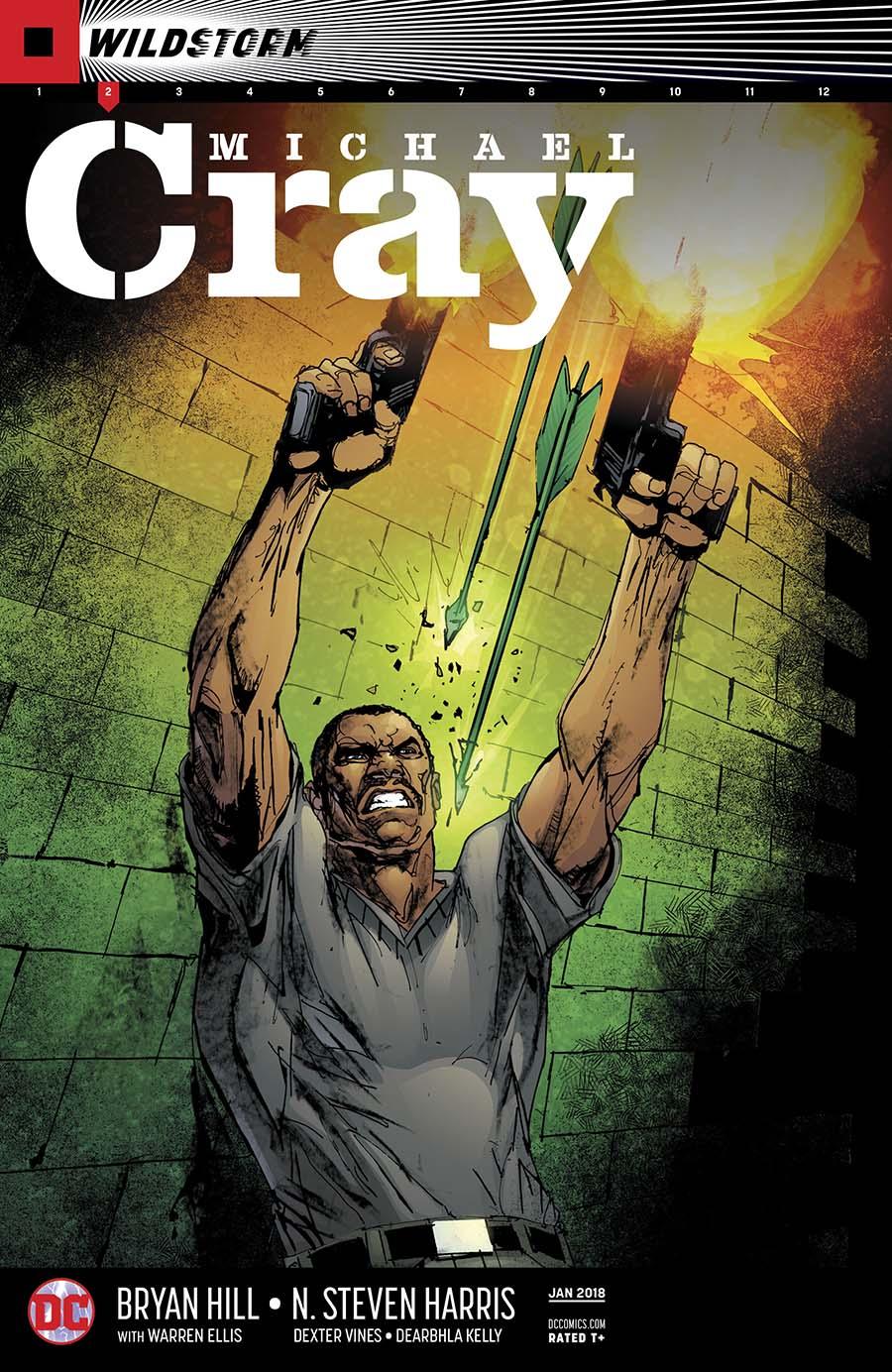 Wildstorm Michael Cray #2 Cover A Regular Denys Cowan & Bill Sienkiewicz Cover