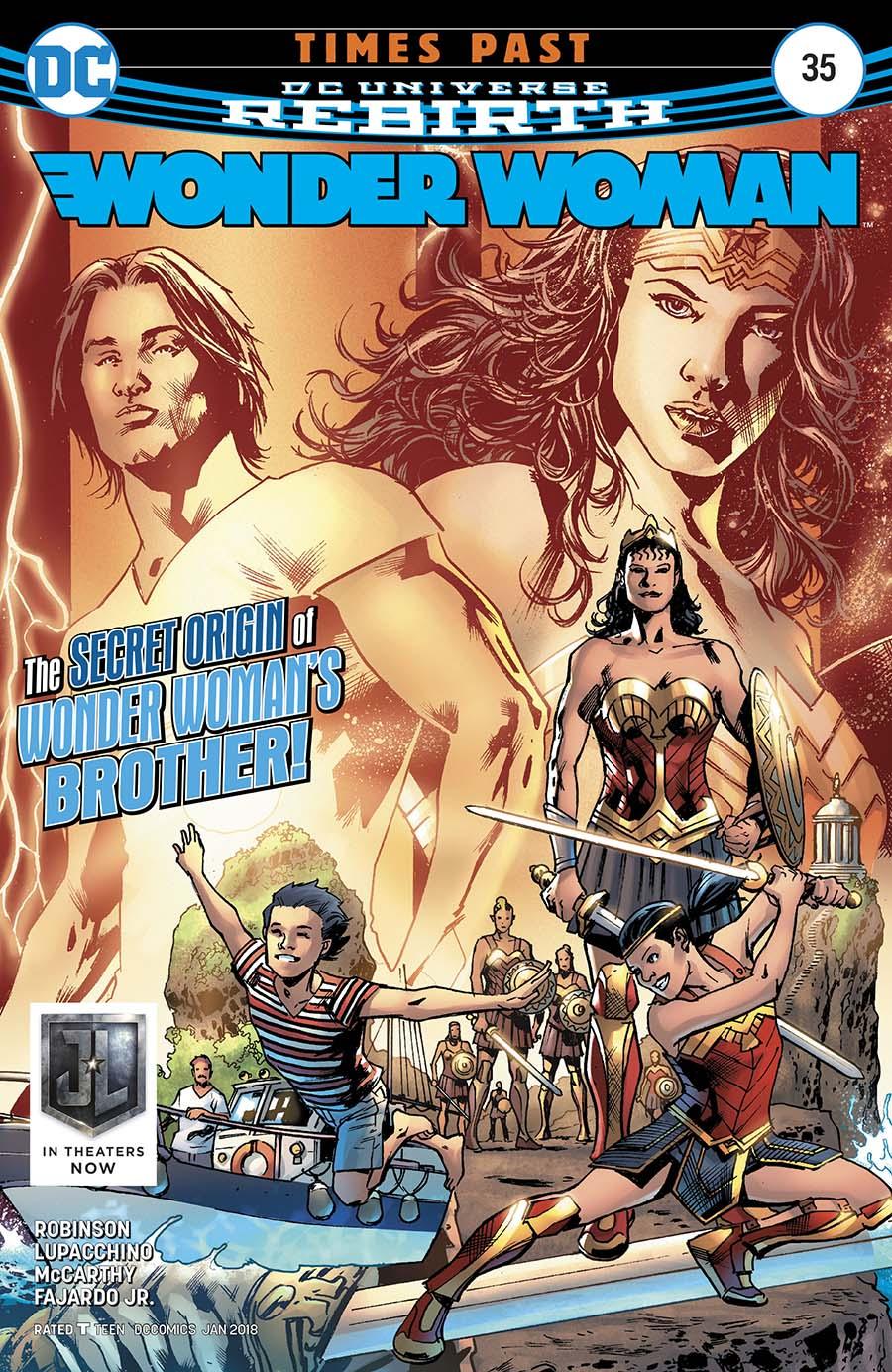 Wonder Woman Vol 5 #35 Cover A Regular Bryan Hitch Cover