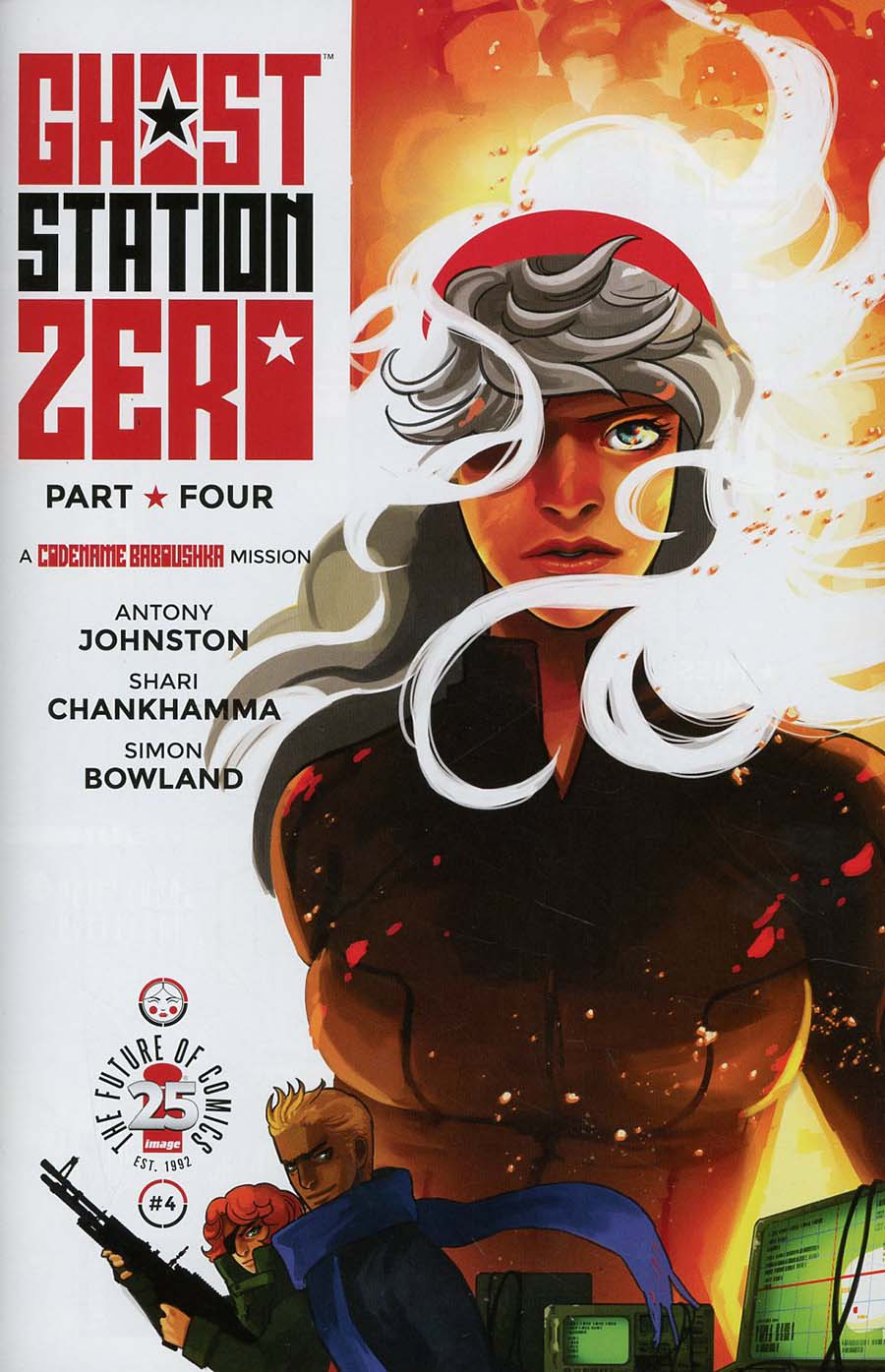 Ghost Station Zero #4 Cover A Regular Shari Chankhamma Cover