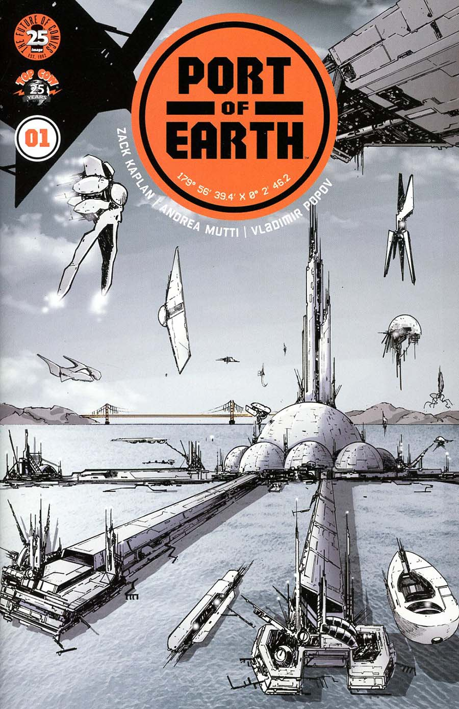 Port Of Earth #1 Cover A Regular Andrea Mutti Cover