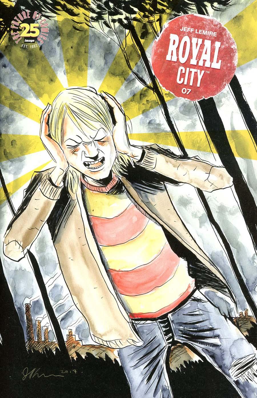 Royal City #7 Cover A Regular Jeff Lemire Cover