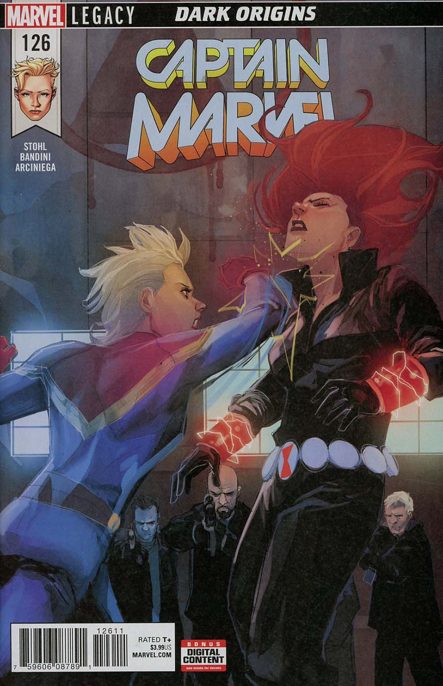Captain Marvel Vol 8 #126 (Marvel Legacy Tie-In)