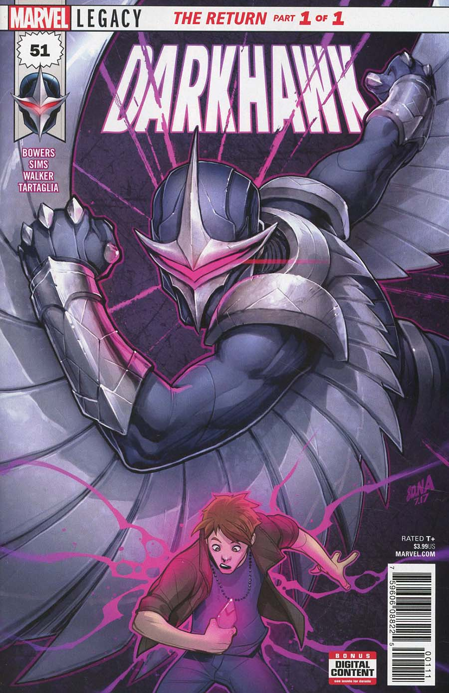 Darkhawk #51 Cover A Regular David Nakayama Cover (Marvel Legacy Tie-In)