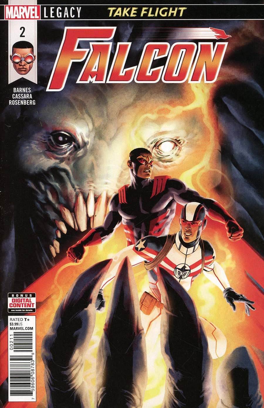 Falcon Vol 2 #2 (Marvel Legacy Tie-In)