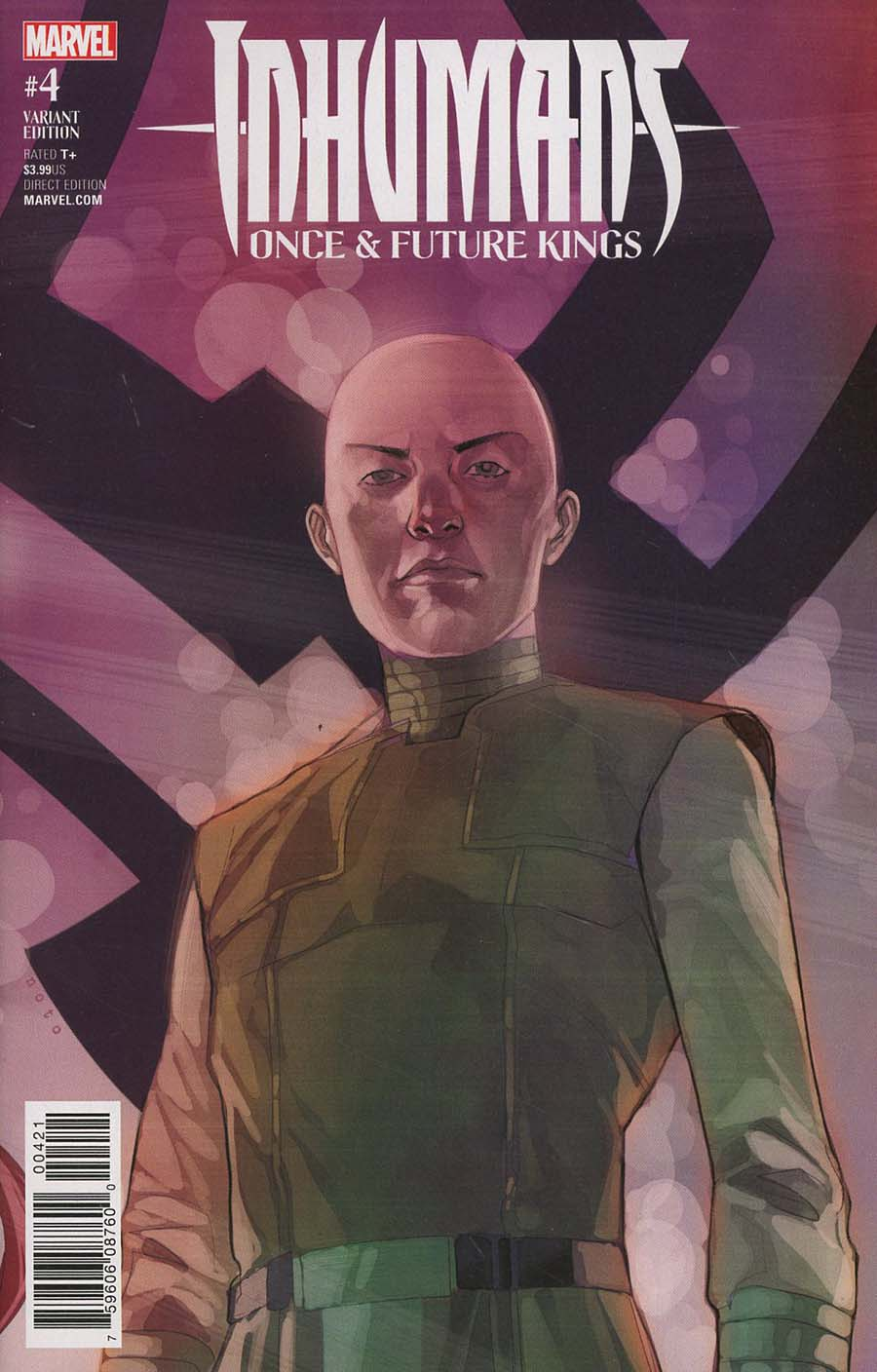 Inhumans Once And Future Kings #4 Cover B Variant Phil Noto Character Cover