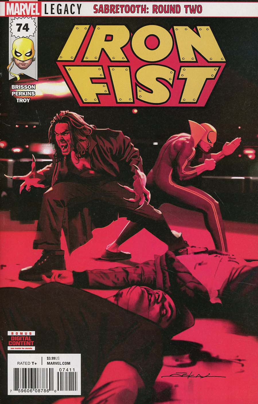 Iron Fist Vol 5 #74 Cover A 1st Ptg (Marvel Legacy Tie-In)