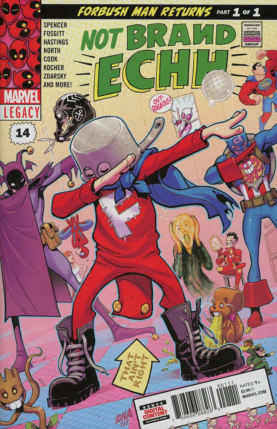 Not Brand Echh #14 Cover A Regular David Nakayama Cover (Marvel Legacy Tie-In)