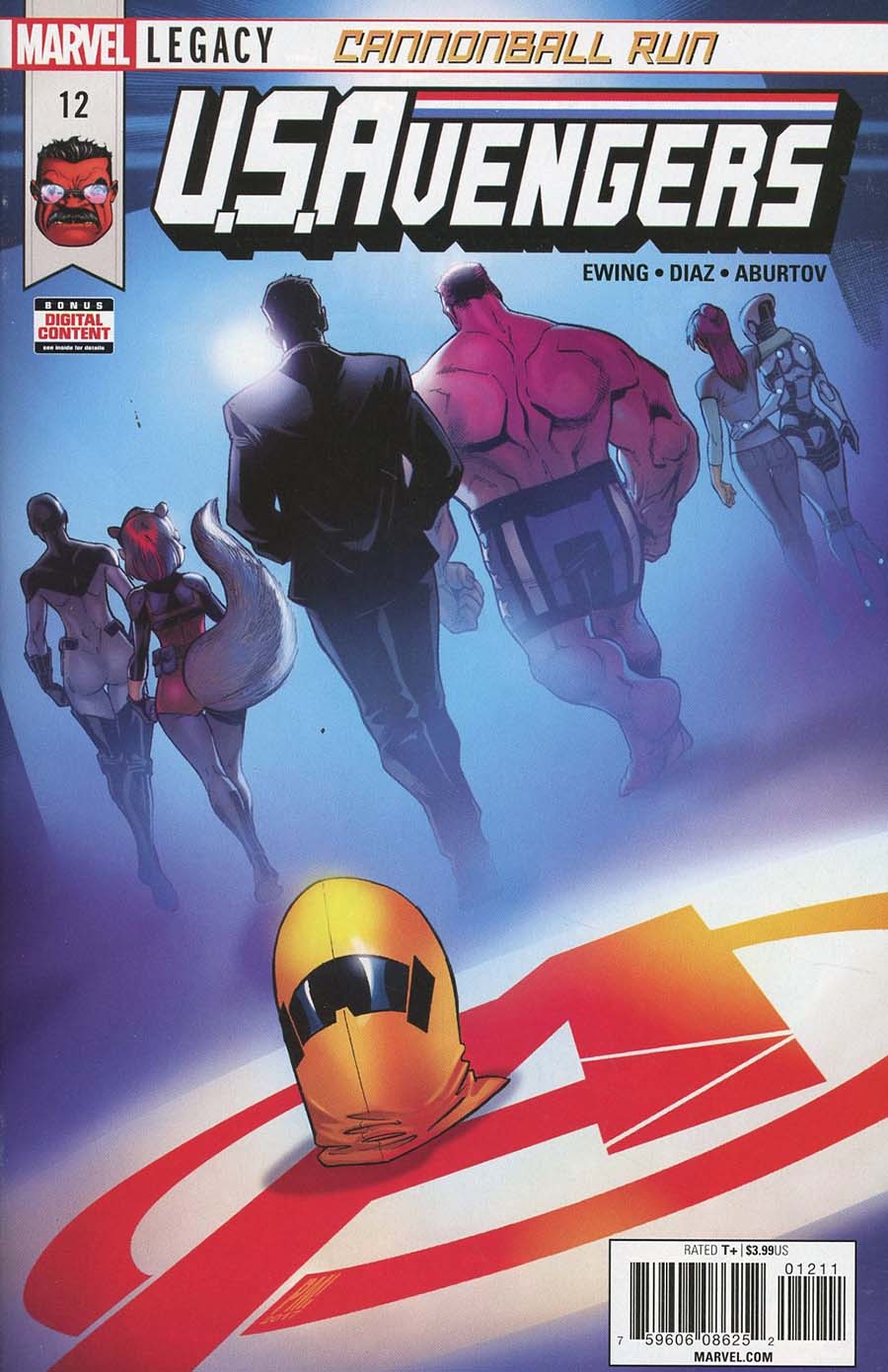 U.S.Avengers #12 (Marvel Legacy Tie-In)