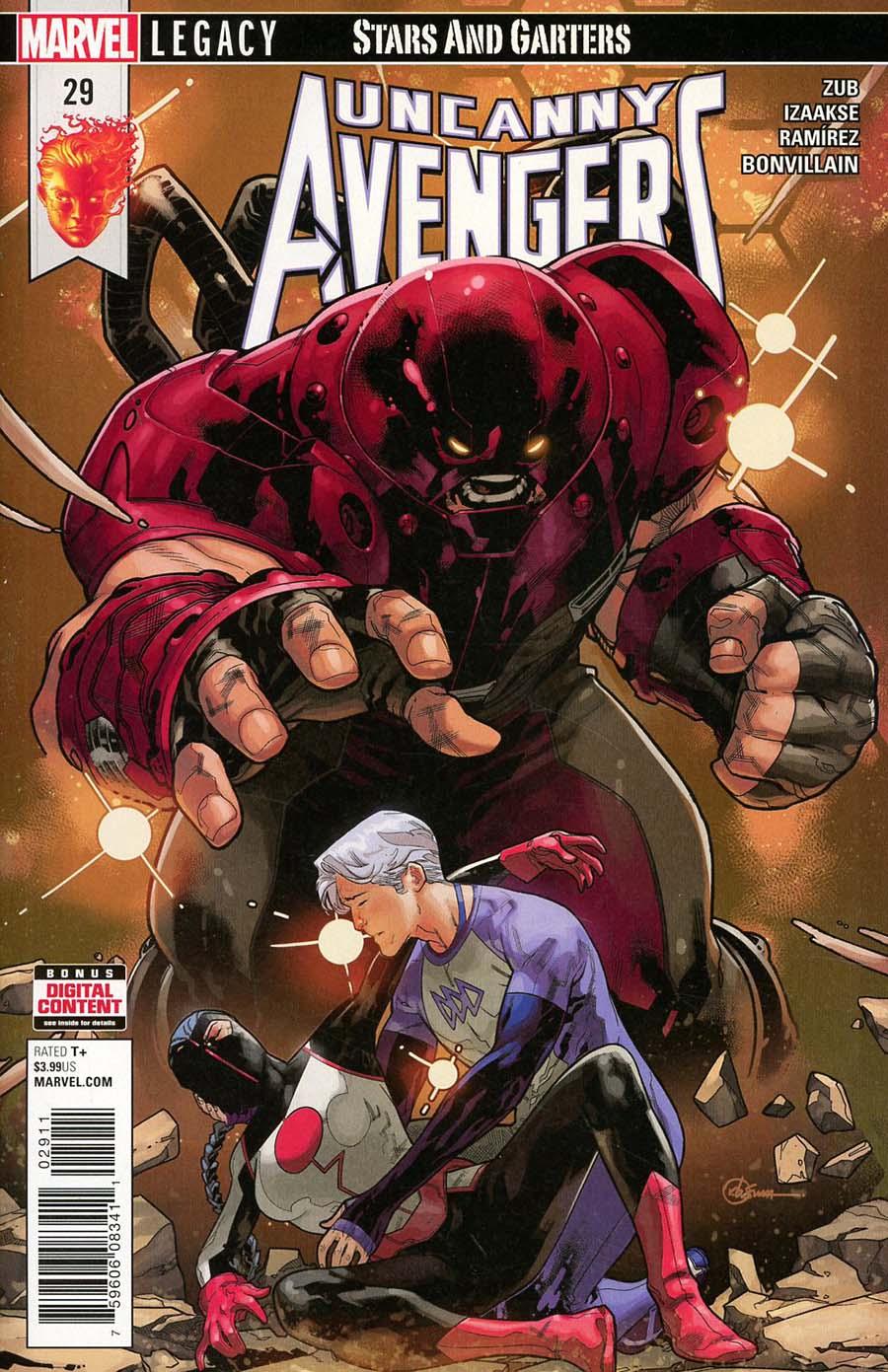 Uncanny Avengers Vol 3 #29 (Marvel Legacy Tie-In)