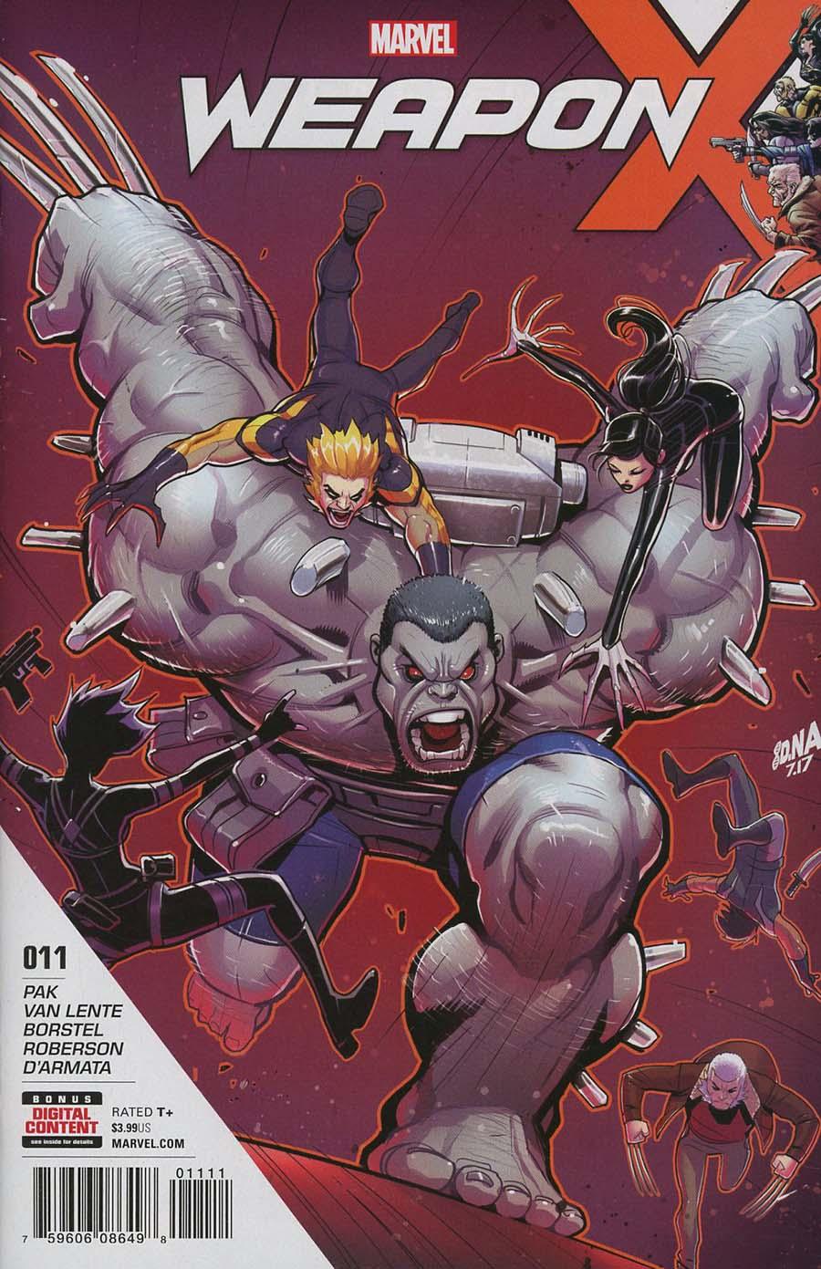 Weapon X Vol 3 #11 Cover A Regular David Nakayama Cover