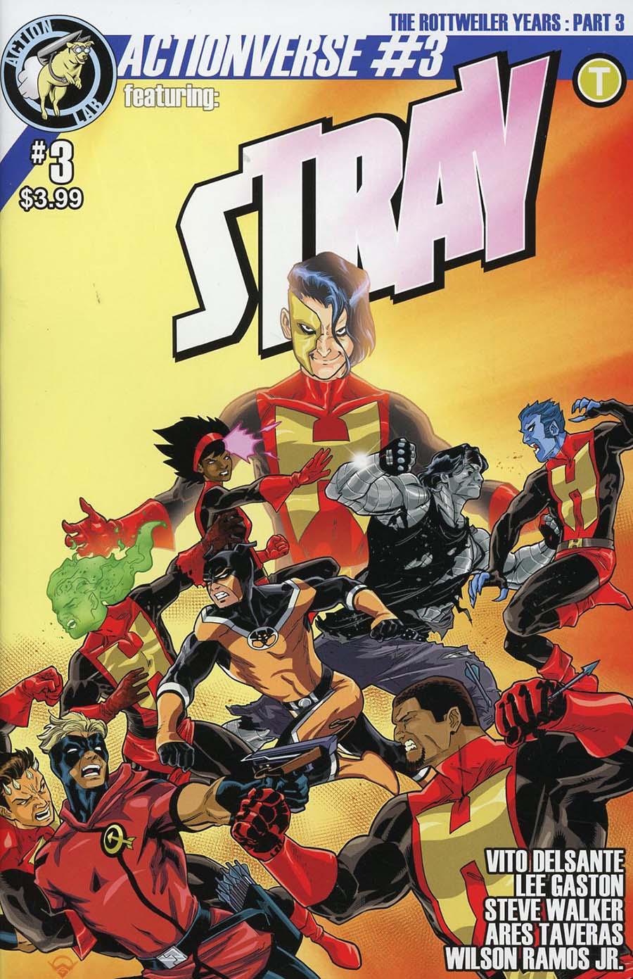 Actionverse Vol 2 #3 Stray Cover A Regular Sean Izaakse Cover