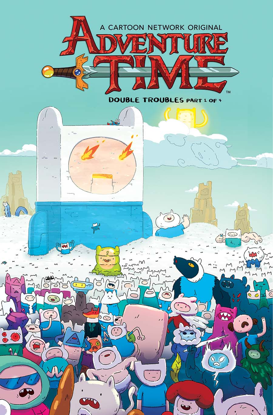 Adventure Time #70 Cover B Variant Joey McCormick Subscription Cover