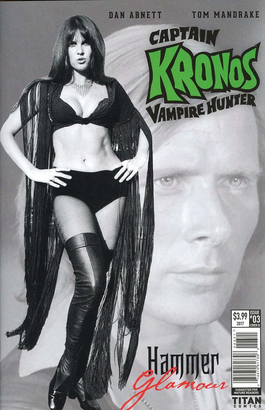 Hammer Comics Captain Kronos Vampire Hunter #3 Cover B Variant Hammer Glamour Cover